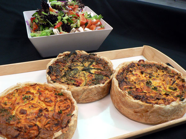 Homemade Quiche - Lunch Size